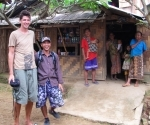 Iain with Kham, our guide