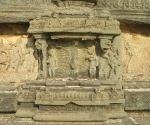 Temple relief detail