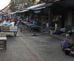 Luang Prabang market scene