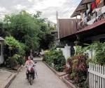 Laundry in a Luang Prabang lane
