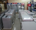 Branded domestic appliances inside Sanjiang's mall
