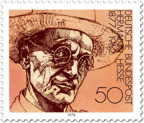 Herman Hesse on a 1978 postage stamp