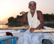Allahabad boatman