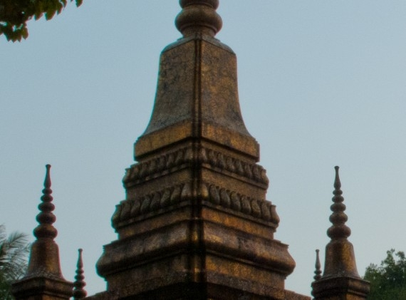 The eponymous that, or stupa, at Wat That Luang