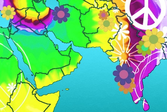Flower Power: Istanbul, Tehran, Kabul, Peshalwar, Goa, Gokarna, Varanasi and Kathmandu