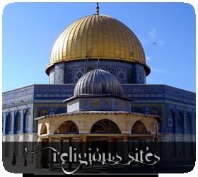 Religious sites, from Jerusalem's Dome of the Rock to Murudeshwar's Hindu Disneyland
