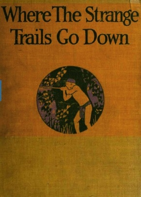 The cover of E Alexander Powell's 1922 travelogue 'Where the Strange Trails Go Down'